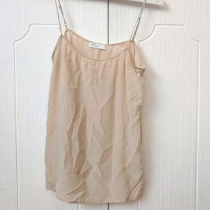 Equipment 100% Silk Cami in Nude - XS